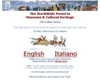 The WorldWide Portal to Museums & Cultural Heritage