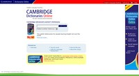 Cambridge Dictionary Online
