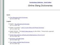 Online Slang Dictionaries