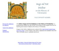 AdHoc Image and Text Database on the History of Christianity