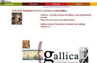 Gallicca, La Bibliothèque Numerique